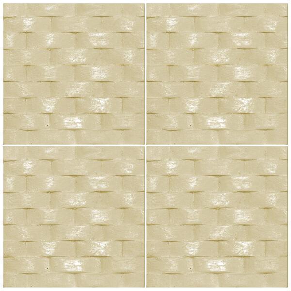 دیوارپوش تندیس و پیکره شهریار مدل آمای کد W1010-21 بسته 4 عددی
