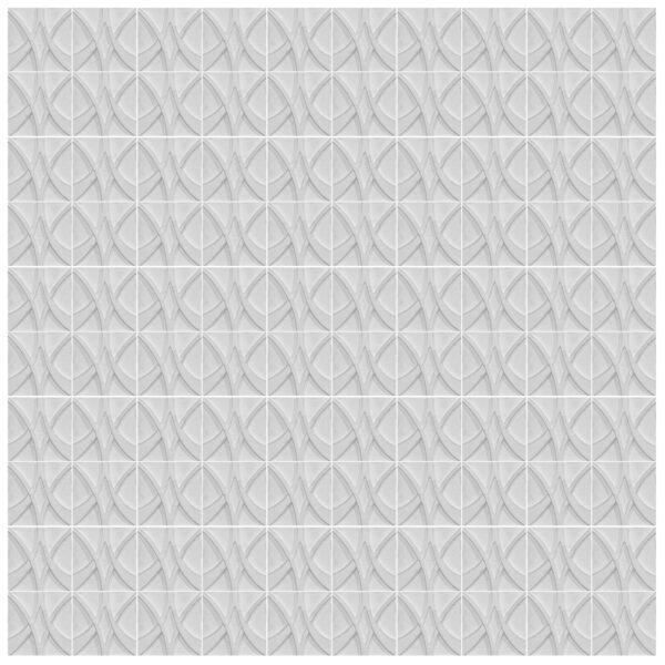 دیوارپوش تندیس و پیکره شهریار مدل آمای کد W1010-10 بسته 100 عددی
