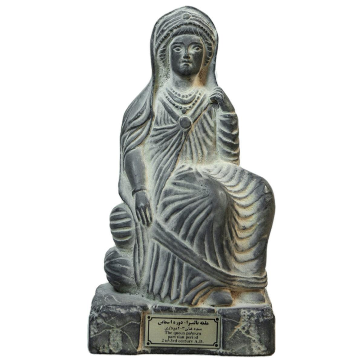 مجسمه تندیس و پیکره شهریار مدل تندیس ملکه پالمیرا کد MO630