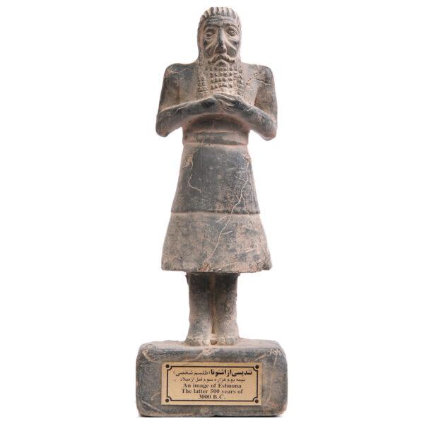 مجسمه تندیس و پیکره شهریار مدل تندیس اشنونا کد MO660