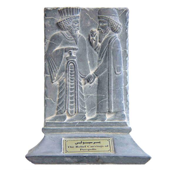 مجسمه تندیس و پیکره شهریار مدل لوح فروهر پرسپولیس کد MO920