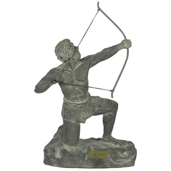 مجسمه تندیس و پیکره شهریار مدل تندیس فرهاد کوه کن کد MO1610