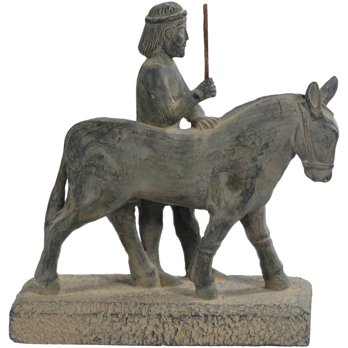 مجسمه تندیس و پیکره شهریار مدل هدیه آور هندی حجمی کد MO2400