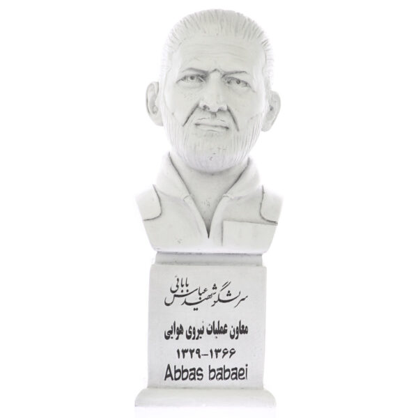 abbas babaei s 600x600 - سردیس شهید عباس بابایی