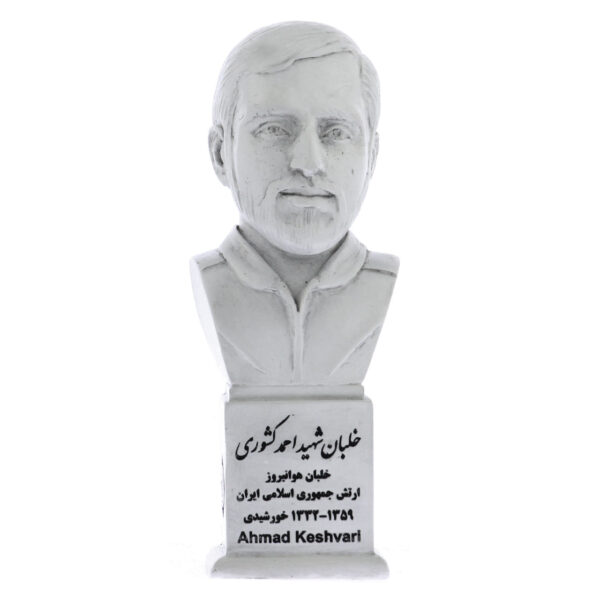 سردیس خلبان شهید احمد کشوری