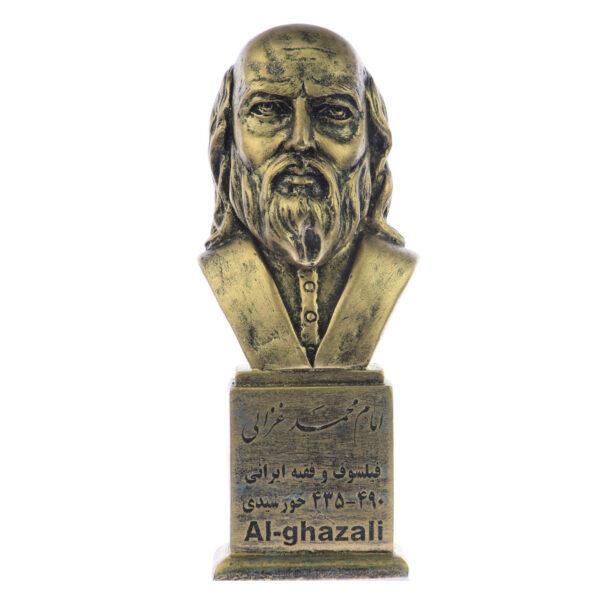 mohammad ghazali b 600x600 - سردیس امام محمد غزالی
