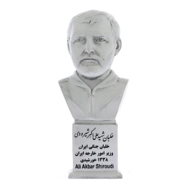 shirudi s 600x600 - سردیس خلبان شهید علی اکبر شیرودی