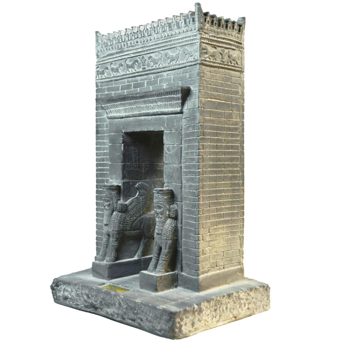 مجسمه تندیس و پیکره شهریار مدل دروازه ملل کد MO1510 سایز بزرگ