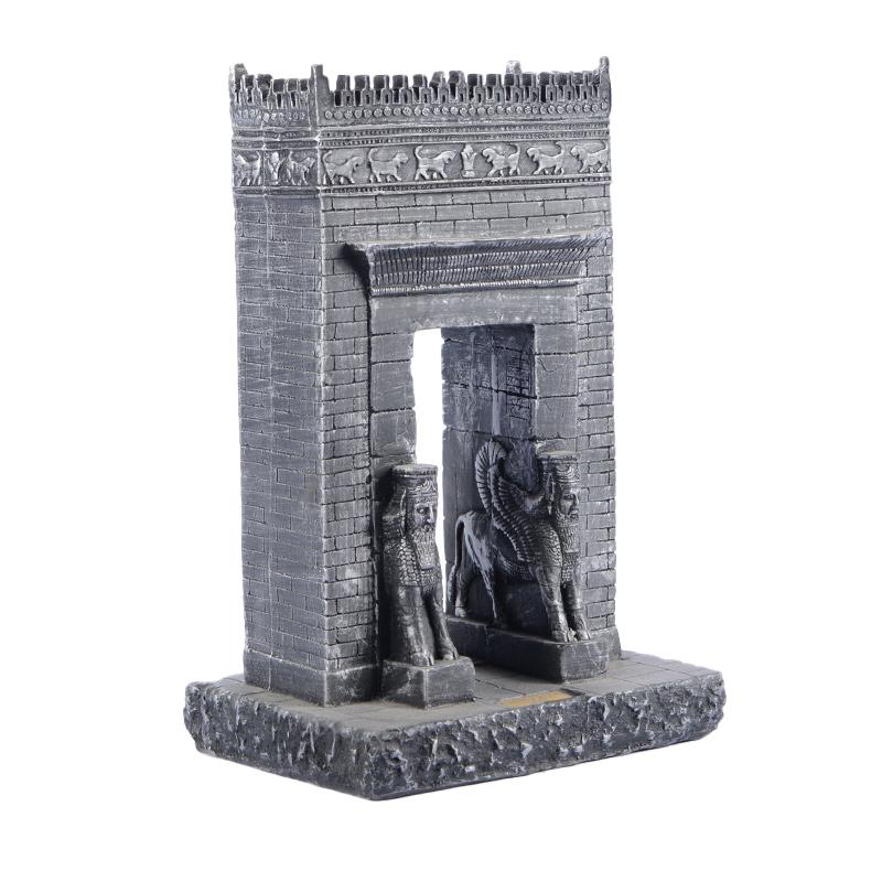 مجسمه تندیس و پیکره شهریار مدل دروازه ملل کد MO1510