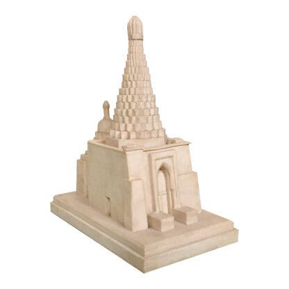 مجسمه تندیس و پیکره شهریار مدل امامزاده میرمحمد حنفیه کد MO3180