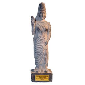 مجسمه تندیس و پیکره شهریار مدل ملکه دوشفری هترا الحضر کد MO3280